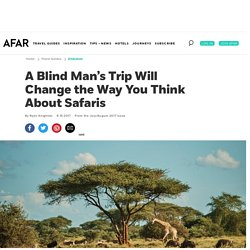 *****Blind safari tourism (accessibility)