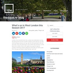 Explore West London this Season 2017