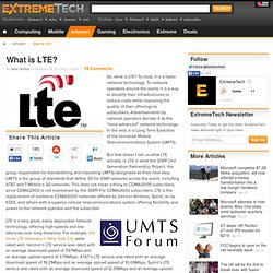 Page 5 - What is LTE?