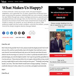 What Makes Us Happy? - Joshua Wolf Shenk