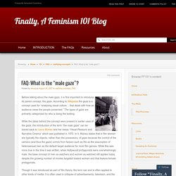 Finally, A Feminism 101 Blog