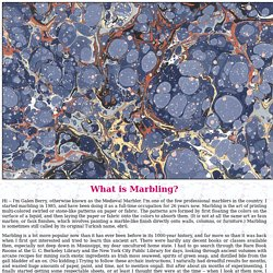 What is Marbling?
