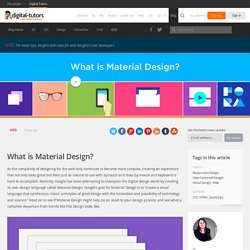 What is Material Design?