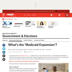 What's the 'Medicaid Expansion'?