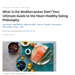 What Is the Mediterranean Diet? Food List, Meal Plan, Benefits, More