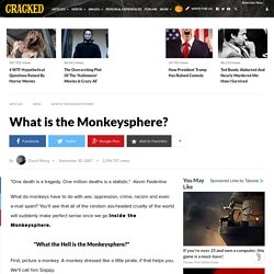 What is the Monkeysphere?