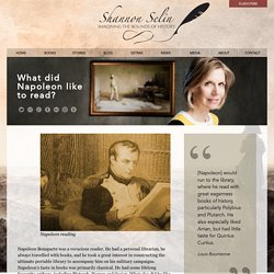 What did Napoleon like to read? - Shannon Selin