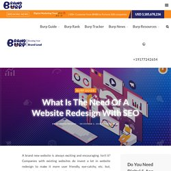 What is The Need Of A Website Redesign With SEO