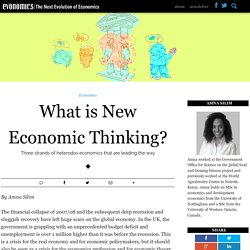 What is New Economic Thinking?