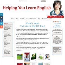 What's New? The Learn English Blog