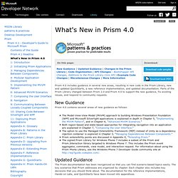 What's New in Prism 4.0