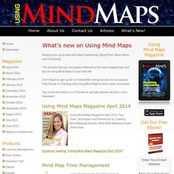 Using Mind Maps Blog