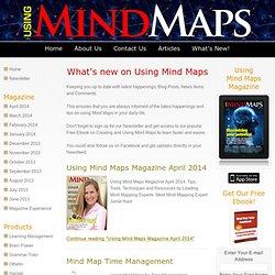 Using Mind Maps Blog