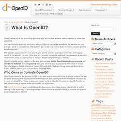 What is OpenID?