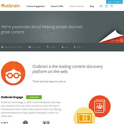 What is Outbrain?