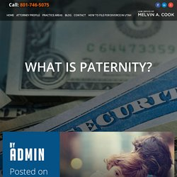 What is Paternity? - Melvin