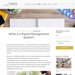 What is a Payroll Management System?