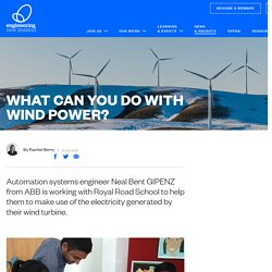 What can you do with wind power?