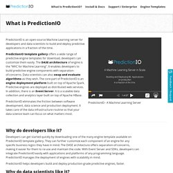What is PredictionIO?