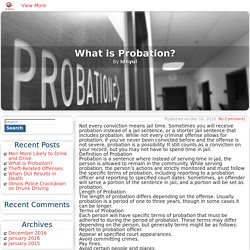 What is Probation? - ID N YU L Blog