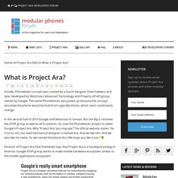 What is Project Ara?