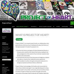 What is Project of Heart?