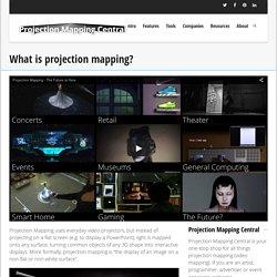 ¿Qué es el mapeo de proyección? - Projection Mapping central