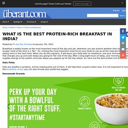 WHAT IS THE BEST PROTEIN-RICH BREAKFAST IN INDIA?