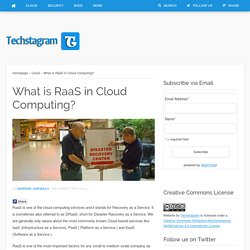 What is RaaS in Cloud Computing?