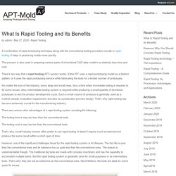 What Is Rapid Tooling and Its Benefits