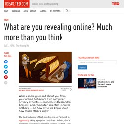 What are you revealing online? Much more than you think