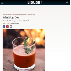 What's Up, Doc Cocktail Recipe