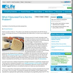 What if Saturated Fat is Not the Problem?<br /> > Fats > What Can I Eat? > Food & Fitness