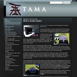 What is Sculpt Studio? - TAMA Products