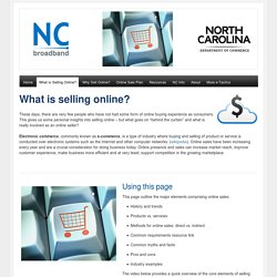What is Selling Online?