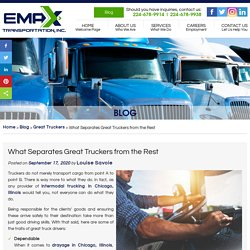 What Separates Great Truckers from the Rest
