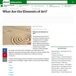 What are the Seven Elements of Art?