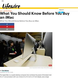 What You Should Know Before You Buy an iMac