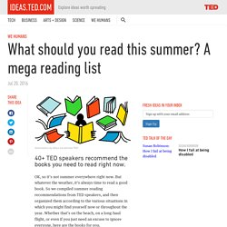 What should you read this summer? A mega reading list