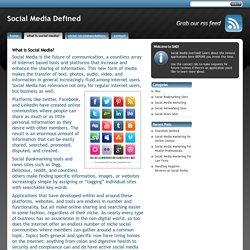 What is Social Media? - Social Media Defined