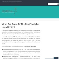 What Are Some Of The Best Tools For Logo Design?