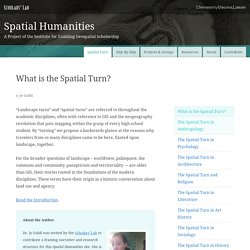 What is the Spatial Turn? · Spatial Humanities