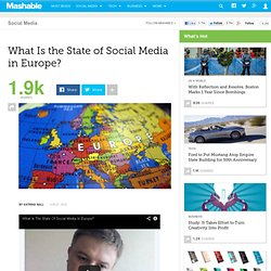 What Is the State of Social Media in Europe?