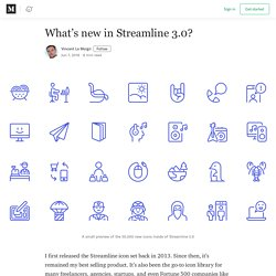 What's new in Streamline 3.0? - Streamline Icons - Medium