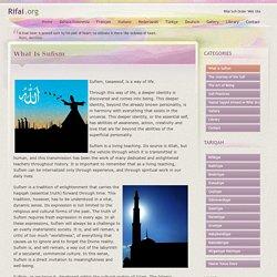 Rifai Sufi Order Web Site