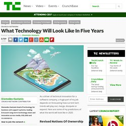 What Technology Will Look Like In Five Years