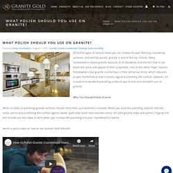 What Is the Best Granite Polish?