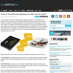 What Is The Difference Between An HDD And An SSD?