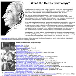 What the Hell is Praxeology?