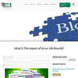 What's The Impact of AI on Job Boards?